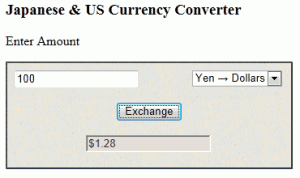 Japanese & US Currency Converter