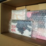 Tenso box packing removed
